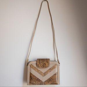 vintage zigzag snake purse